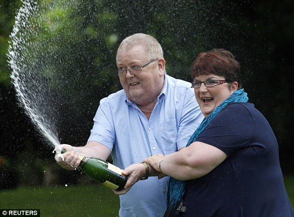 Colin and Chris Weir became Europe's biggest lottery winners when they scooped more than £161million in 2011