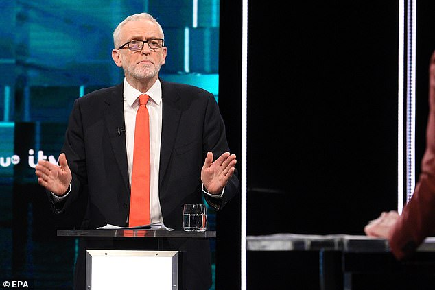 Labour leader Jeremy Corbyn was criticised last night for the way he pronounced 'Epstein' in the live TV debate