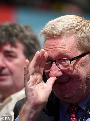 Mr McCluskey, a close ally of Jeremy Corbyn, said the party's official policy of keeping open borders was 'not a sensible approach'