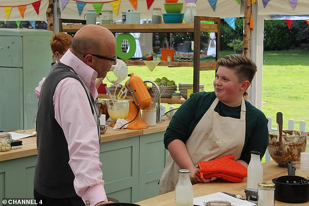 Battle of the biscuits: The Great British Bake Off's junior spin-off saw 20 budding bakers aged nine to 15 compete in a range of cooking challenges
