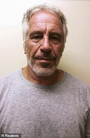 Jeffrey Epstein's mugshot