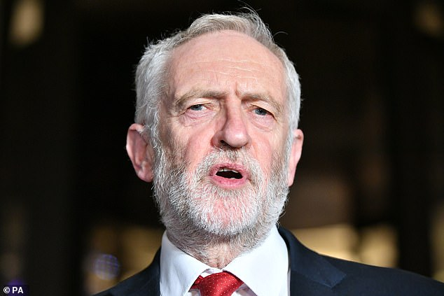 Jeremy Corbyn's Labour believe in a Big Brother state, raising taxes, confiscating property and restricting free speech