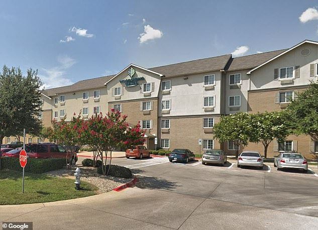 Authorities say police visited the motel room at the WoodSprings Suites where the girl was discovered but didn't see the child, who was eventually found safe about two hours later