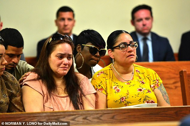 Friends and family of Ramirez sat weeping behind her throughout a hearing in June