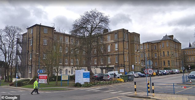 Mr Nartey was working a night shift at St Bernard's Hospital in Ealing in March 2013 when he sat down on a 'defective' chair, which collapsed beneath him