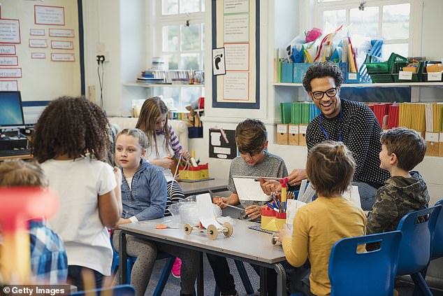 There has been an increase in demand for after-school and breakfast clubs over the past 20 years andparents¿ associations and Girlguiding groups are struggling to recruit volunteers, according to president of theGirls' Schools Association (file image)