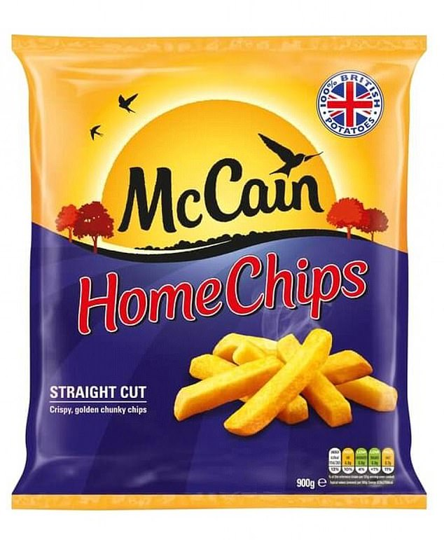 Treat yourself!220g baked (around 22 chips) of McCain Chips offer 6.6g protein (3g per 100g) and just 49 per cent of Brits recognise a potatoes skin is a source of fibre