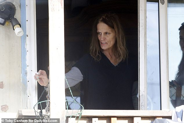 Julie Hatt, 58, was the last person to see Levin alive and tells DailyMailTV , 'He was a really nice guy. He's always been nice to me and he didn't deserve this'