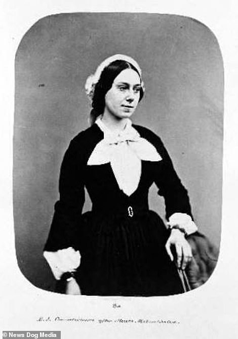 After shot of Eliza Josolyne, taken in the summer of 1857, a few months after being admitted to Bedlam Asylum