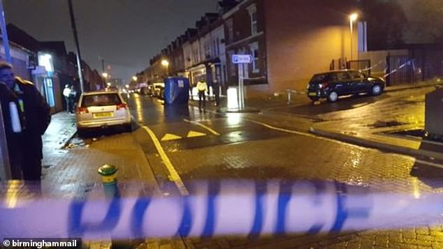 Officers found a man in his twenties with serious injuries on Lozells Street, Lozells at just before 3.30pm