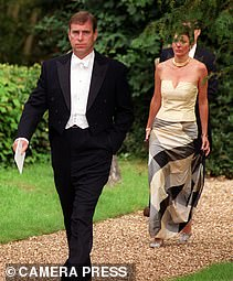 Prince Andrew secretly met with alleged pimp Ghislaine Maxwell (together at a wedding in 2000) in London a fortnight after the US revealed plans to reopen its probe into Jeffrey Epstein