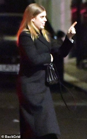 Princess Beatrice spotted for the first time since her father Prince Andrews's highly controversial Newsnight interview