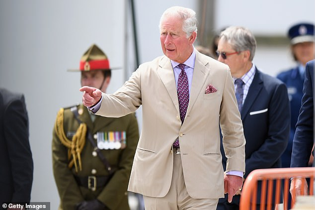 Prince Charles visited the Christchurch Cathedral site in New Zealand and a university today where reporters tried to ask him about the Epstein scandal that has overshadowed his trip