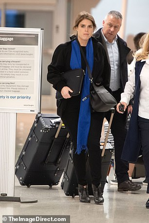 The youngest daughter of the Duke of York was pictured hours after revelations emerged from her father's bombshell BBC interview