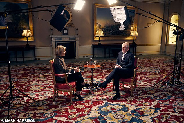 'The problem was the fact that once he had been convicted I stayed with him,' the Duke told the BBC's Emily Maitlis