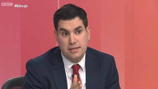 Shadow Justice Secretary Richard Burgon was savaged on Question Time last night by a furious audience member who slammed Jeremy Corbyn for trying to hammer hard-working Britons with his radical 'super-tax'