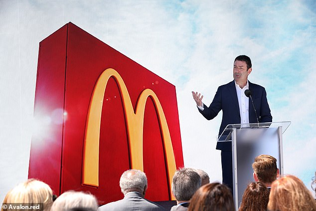 Mr Easterbrook, from Watford, Hertfordshire, joined McDonald's in 1993 as a UK store manager