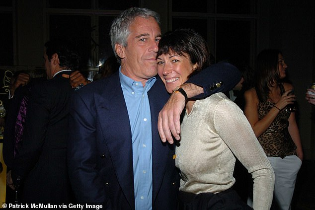 Jeffrey Epstein and Ghislaine Maxwell pictured together in New York in 2005