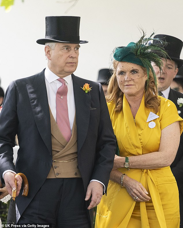 Prince Andrew's ex-wife Sarah Ferguson (pictured together in June) was the 'driving force' behind the Royal's decision to conduct his disastrous TV interview, DailyMail.com can reveal. Fergie 'encouraged' and 'convinced' him to take the bold step of going on camera because she felt Andrew, 59, needed to 'get ahead' of the scandal and present 'his truth' to the public
