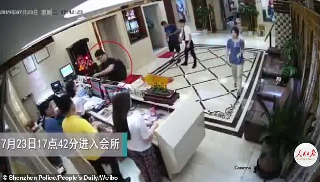 Chinese police have released surveillance footage through state media to show Simon Cheng Man-kit, a former UK consulate worker, 'soliciting prostitutes and making confessions'