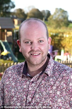 Mr Carpenter, pictured, is a previous adopter champion of the year as a result of his dedication to his growing family