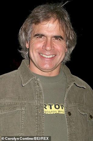 Jake Burton Carpenter is seen above in 2005
