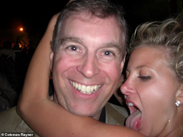 The blonde socialite who was then 27 and datingPrince Albert of Monaco's right-hand man Bruno Philipponnat at the time then licked the royal's face during their encounter