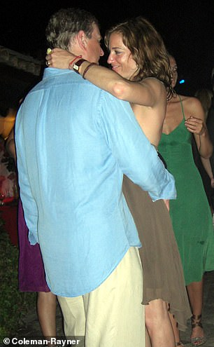 Andrew was seen with Canadian socialite Pascale Bourbeau during the same trip in St Tropez in July 2007