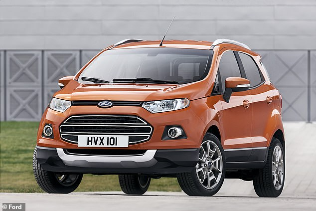 The pre-facelift Ford EcoSport has an incredible recommended wading depth considering it's a small crossover