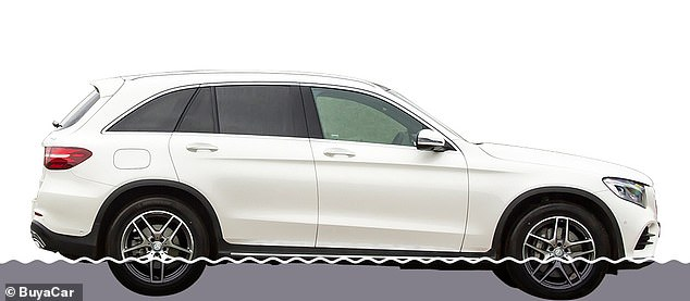 Car buyers have been warned to do their homework, as not all large SUVs offer good wading depths. The £40,000 Mercedes-Benz GLC, for example, can only clear up to 300mm