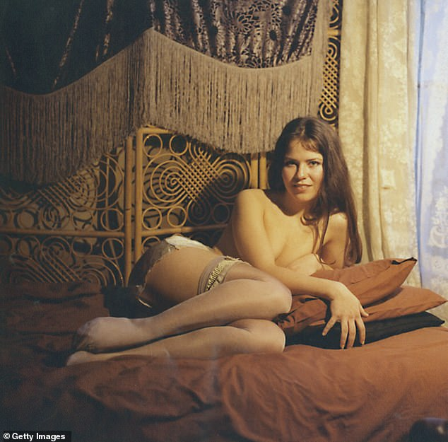 THE PRINCE AND THE PORN STAR:Actress Koo Stark in 1976 soft erotic film Emily