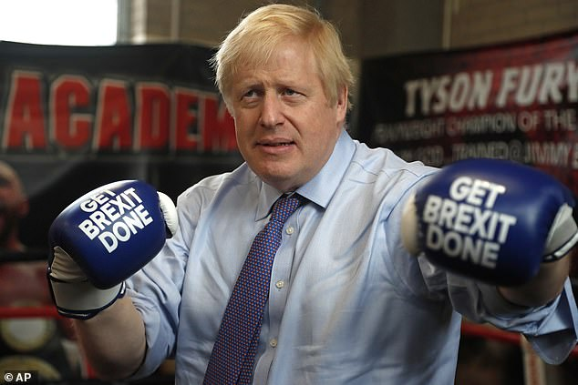 While the gloves will come off later they were very much on this morning as the PM visited Jimmy Egan's Boxing Academy in Manchester