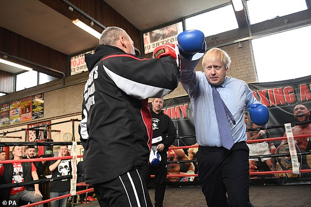 Both men will be hoping to avoid being on the ropes in tonight's leaders' debate