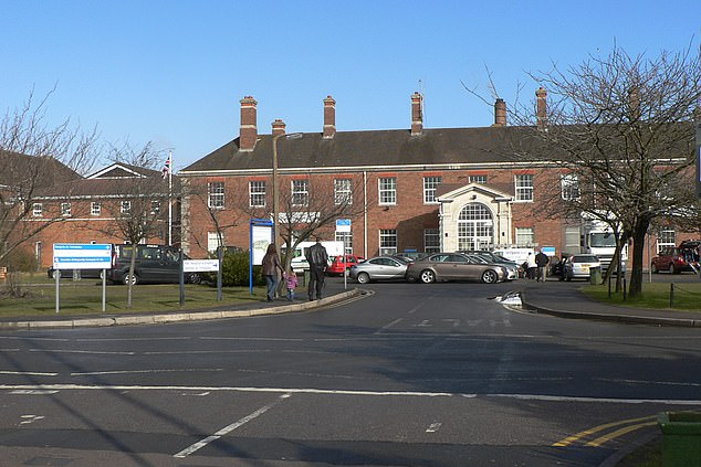 After his son's birth in April 2018 he was sectioned a month later and spent time under observation at Llandough Hospital (pictured) before being released