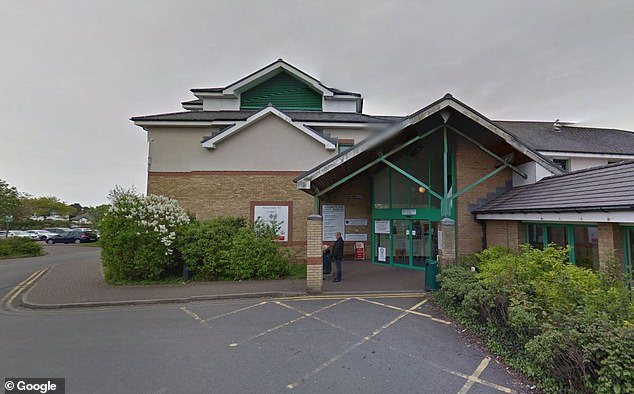 On January 7 this year, Dai and his fiancée went to Barry Hospital (pictured) where he asked to be prescribed medication but as no doctor was available to see him, that was not possible