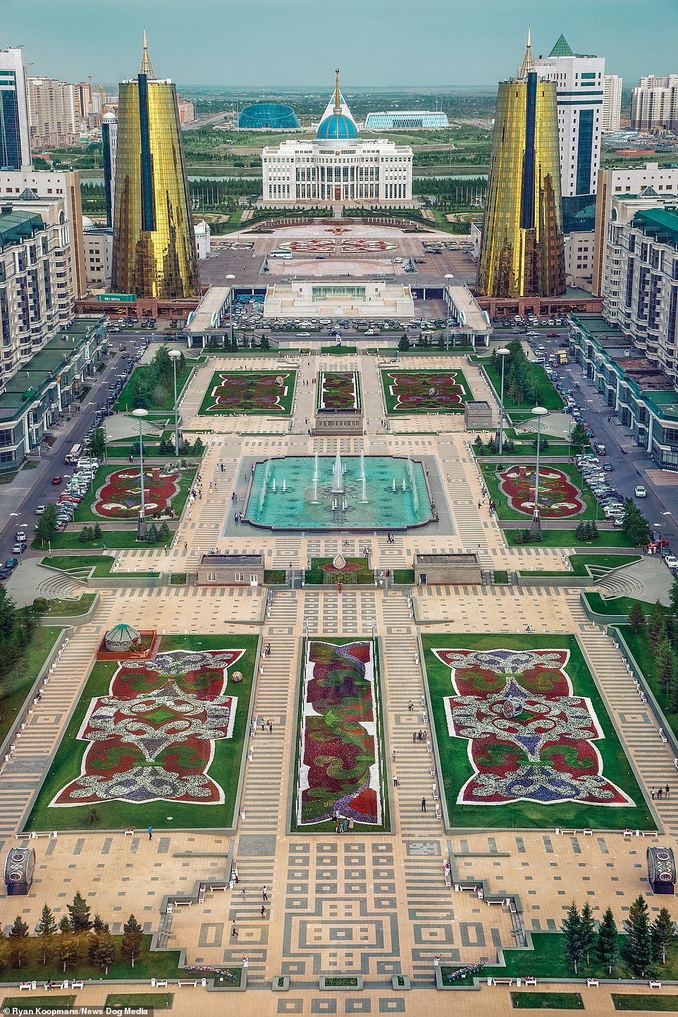 The capital city of Kazakhstan, previously called Astana, was recently renamed Nur-Sultan in honor of former president Nursultan Nazarbayev, June 2011