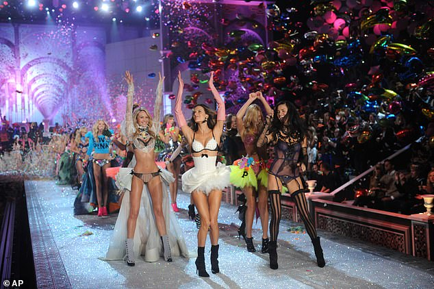 Models walk the runway during the 2011 Victoria's Secret fashion show in New York