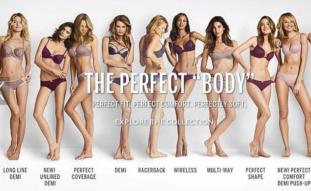 Standard: For years, Victoria's Secret has faced backlashfor using only incredibly thin models in its campaigns and fashion shows. The brand came under fire for this campaign in 2014