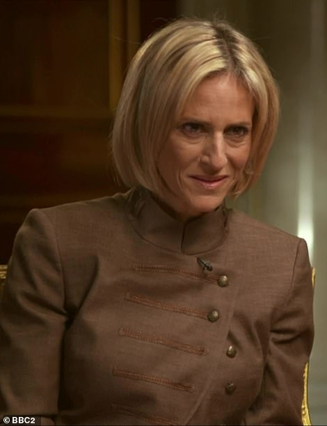 Putting the claims to the prince, Emily Maitlis said: 'In a legal deposition 2015, she said she had sex with you three times'