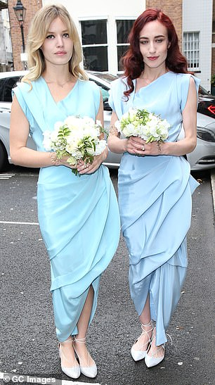 Mmatching: Georgia shared the honor with her older sister Elizabeth