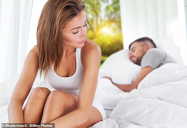 A woman who started an affair with a former fling just four months after she got married has revealed why she ultimately chose to remain with her husband (stock image)