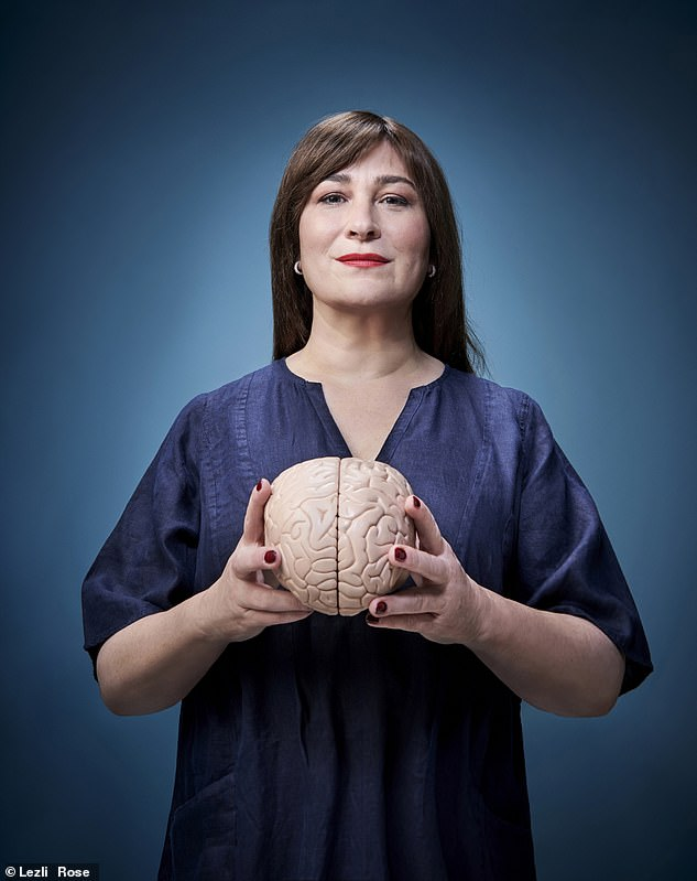 After seeing Sarah's results, Dr Donnai said that the inactivity in her left hemisphere is almost certainly the result of a brain injury