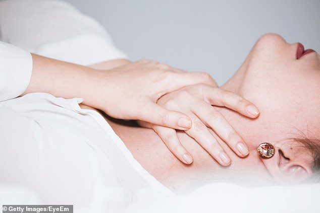 Paul, 23, from Hertfordshire, chokes his partners without seeking consent first as he enjoys the combination of giving pleasure and fear (file image)
