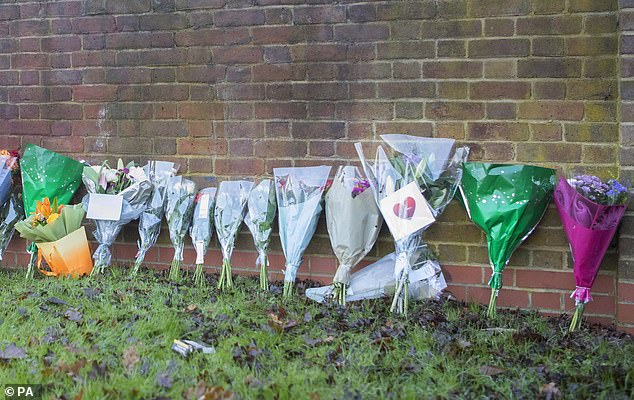 Tributes have continued to arrive throughout the morning near to the scene of the tragedy