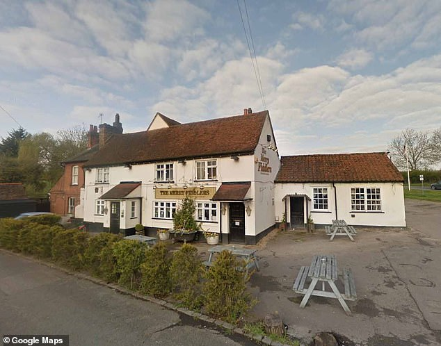 Today, staff at the Merry Fiddler, in the village of Fiddler's Hamlet, near Epping, Essex, told how they were locking up when they saw a car matching the description of the one used in the hit and run in the car park