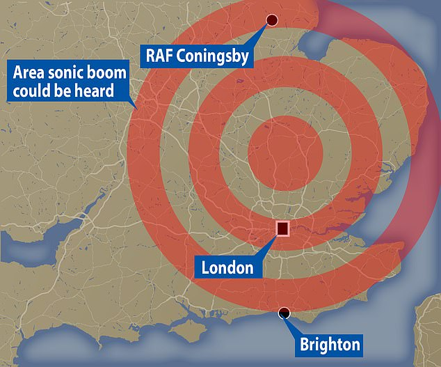 Thousands of people across the capital and the Home Counties were woken by what sounded like a 'large 'explosion' in early hours of Sunday