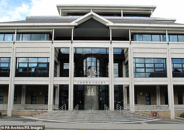 Kingston Crown Court was told the gang used a Mercedes with stolen plates to approach their unsuspecting victim after travelling in that car and a blue Ford Fiesta
