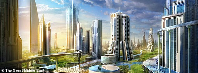 Saudi Arabia are planning to create a new £400bn cross-border city state called Neom