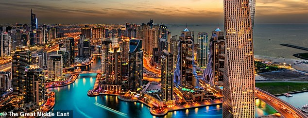 The futuristic city will have 'western' style rules in place to attract global sporting events