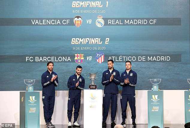 The first edition of the rebooted Spanish Super Cup will take place in Jeddah next month